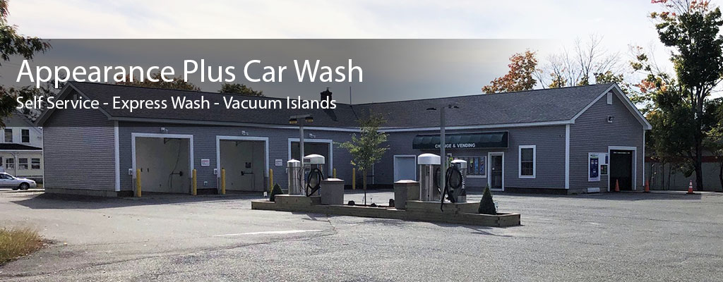 Appearance plus car wash express car wash self service car wash appearance plus car wash express car wash self service car wash vacuums maine car wash serving old town orono bangor maine solutioingenieria Gallery